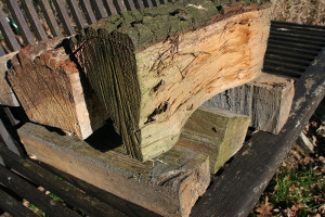 Holz für die Feuerstelle